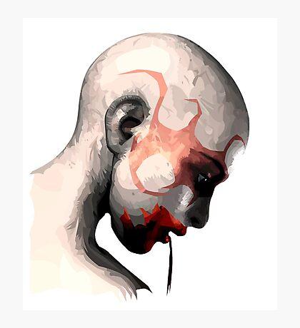 Cannibal Head Photographic Print