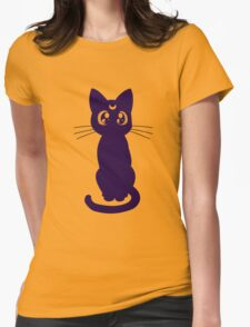 Moonkitty Womens Fitted T-Shirt