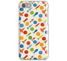 Retro futurism iPhone Case/Skin