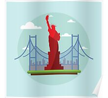 Statue of Liberty - New York City Poster