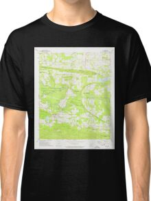 USGS TOPO Map Arkansas AR Ola 259293 1972 24000 Classic T-Shirt