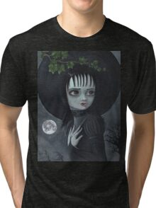 Her Name Was Lydia - Halloween  Tri-blend T-Shirt