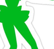 Jupiter Green Sticker