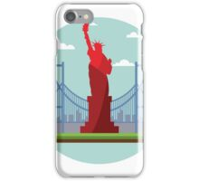 Statue of Liberty - New York City iPhone Case/Skin