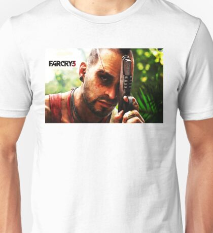 FARCRY GAME 3 TOURS 3 Unisex T-Shirt