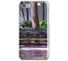 A bench in the park iPhone Case/Skin