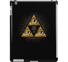 Trilluminati iPad Case/Skin