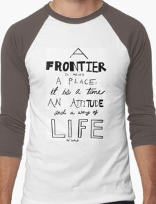 Frontier Men's Baseball ¾ T-Shirt