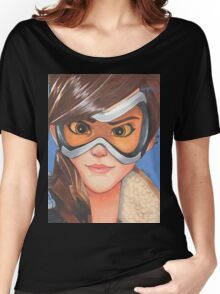 Tracer from Overwatch Women's Relaxed Fit T-Shirt