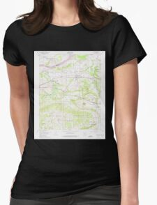 USGS TOPO Map Arkansas AR Lavaca 258904 1947 24000 Womens Fitted T-Shirt