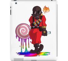 Happy Pyro RED iPad Case/Skin