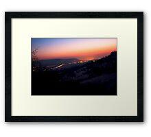 Sunsrise in Remstal VRS2 Framed Print