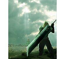 To Midgar - Final Fantasy VII Concept Art Photographic Print