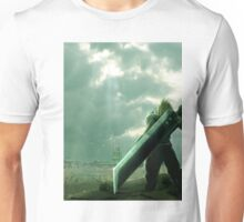To Midgar - Final Fantasy VII Concept Art Unisex T-Shirt