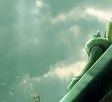 To Midgar - Final Fantasy VII Concept Art Sticker