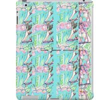 Scent of the Rows Of Tulips  iPad Case/Skin