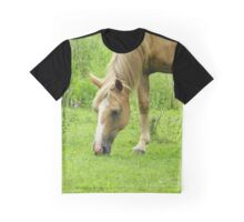 A Light Snack - Horse Style Graphic T-Shirt