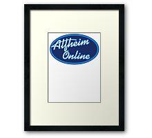 Alfheim Idol Framed Print
