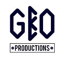 GBO PRODUCTION BLACK/BLUE Photographic Print