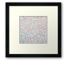 Scattered By The Wind Framed Print