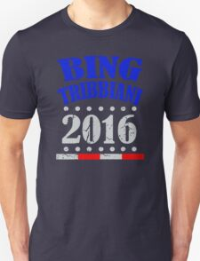 Funny Bing Tribbiani For President Election 2016 Unisex T-Shirt