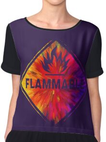 Flammable 1 Chiffon Top