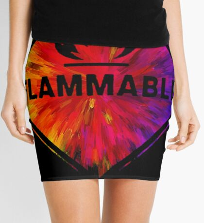 Flammable 1 Mini Skirt
