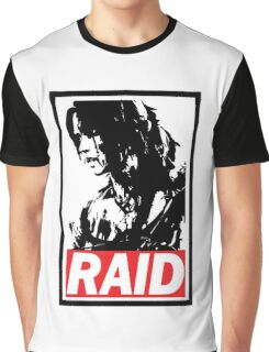 Tomb Raider Obey poster Graphic T-Shirt