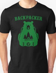Backpacker Pacific Cres Trail Camping Boy Scouts Unisex T-Shirt