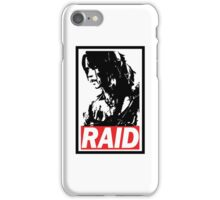 Tomb Raider Obey poster iPhone Case/Skin
