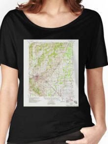 USGS TOPO Map Arkansas AR Jonesboro 260127 1958 62500 Women's Relaxed Fit T-Shirt