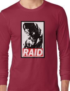Tomb Raider Obey poster Long Sleeve T-Shirt