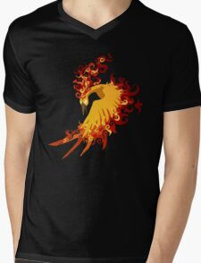 Moltres Legendary bird Mens V-Neck T-Shirt
