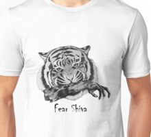 Shiva Tiger with Zombie Arm  Unisex T-Shirt