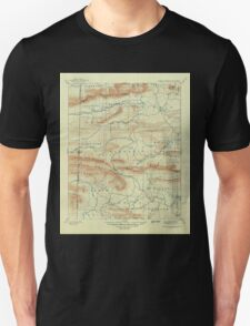 USGS TOPO Map Arkansas AR Poteau Mountain 260562 1899 125000 Unisex T-Shirt