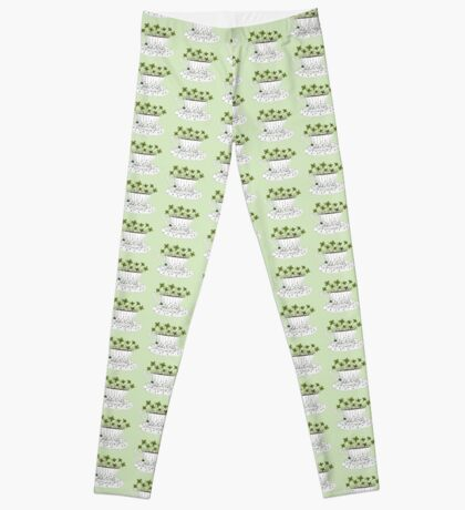 Lucky Cup of Clovers Leggings