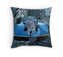 ILV2 EAT-TIGER - CAR THROW PILLOW CREATIONS BY RAPTURE777 Throw Pillow