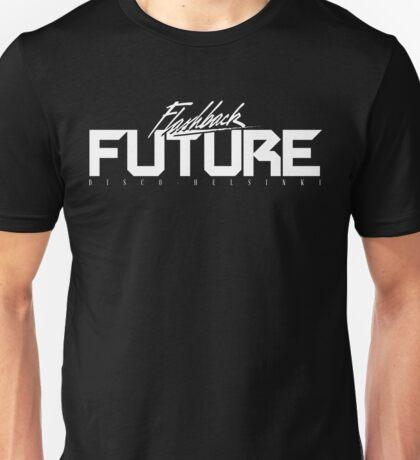 Flashback Future - Francesco Terragin WHITE EDITION Unisex T-Shirt