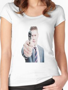 Supernatural - Dean WInchester Women's Fitted Scoop T-Shirt