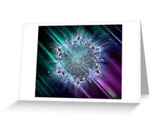 Mandala - Universe III Greeting Card