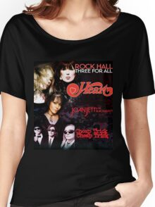 Rock Hall Three For All Women's Relaxed Fit T-Shirt