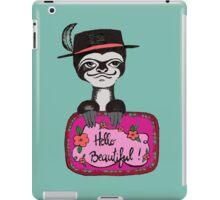 Hello beautiful iPad Case/Skin