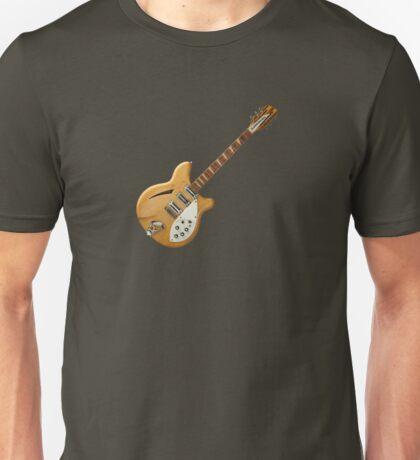 Wonderful Natural Rickenbacker Unisex T-Shirt