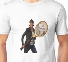 Miranda Hart - 'Keep dancing' Unisex T-Shirt