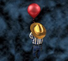 UP UP AND AWAY--BOY AND HIS BALLOON THROW PILLOW by ✿✿ Bonita ✿✿ ђєℓℓσ