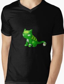 Pkmn Mens V-Neck T-Shirt