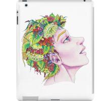 Flowergirl iPad Case/Skin