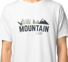 Mountain Camp Design Classic T-Shirt