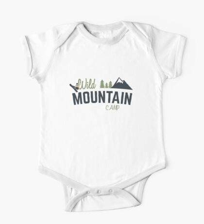 Mountain Camp Design One Piece - Short Sleeve