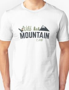 Mountain Camp Design Unisex T-Shirt